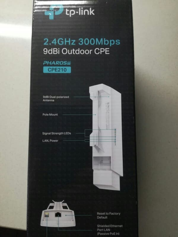 Antena WiFi PHAROS de largo alcance