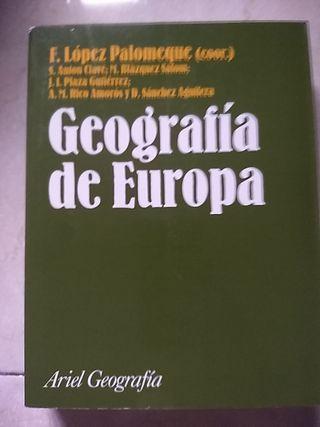 geografia de europa