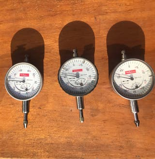 Reloj comparador de Käfer 0.01 mm