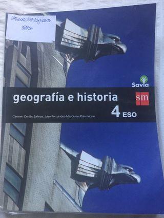 Geografía e historia 4 ESO - Savia - sm