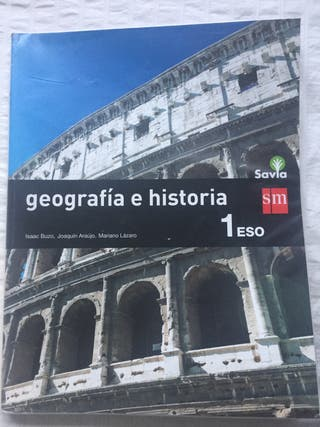 Geografía e historia 1 ESO - Savia - sm