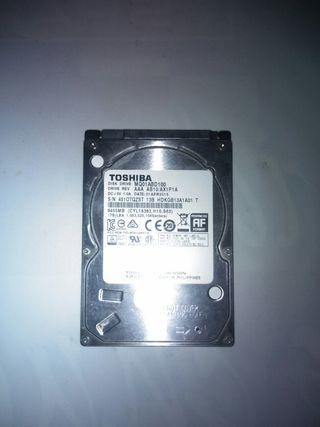 Disco duro interno 1TB Toshiba
