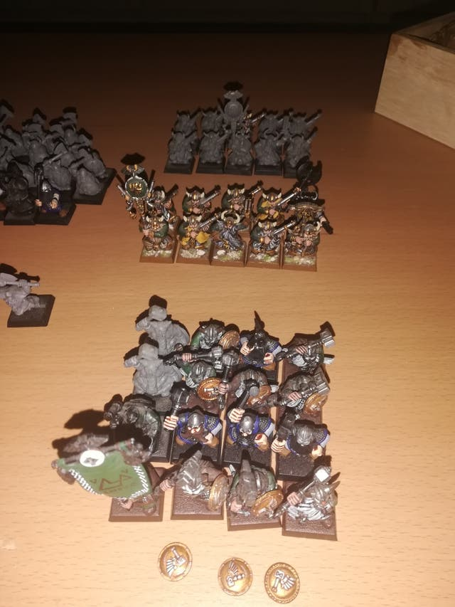 warhammer fantasy enanos.