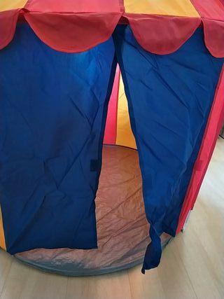 tienda campaña circo