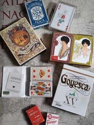 Barajas de cartas vintage
