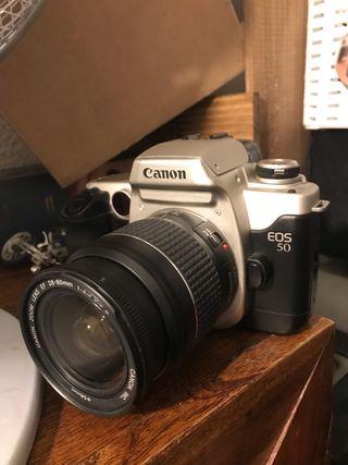 Canon 50D analógica carrete