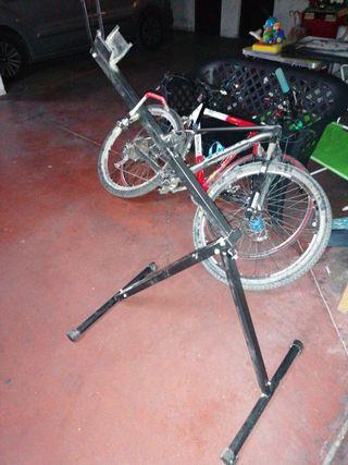 banco de mecánica bicicleta