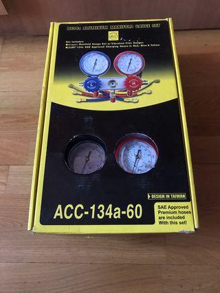 Manómetro de carga de aire acondicionado