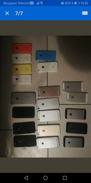 lot de 20 IPhones HS