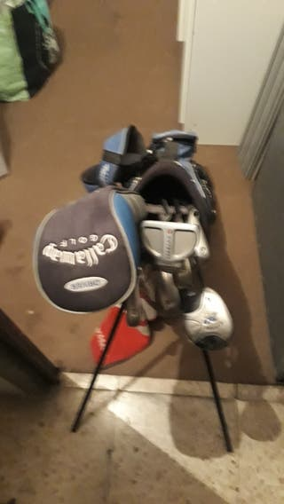 Juego palos golf Niño Calaway zurdo