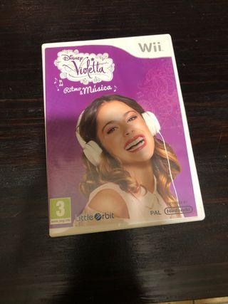 Juego de Violeta para la Wii