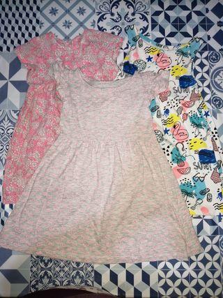Lote de ropa de bebé talla 18 meses