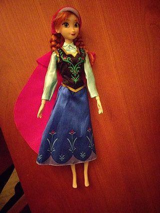 Muñeca de Anna de Frozen