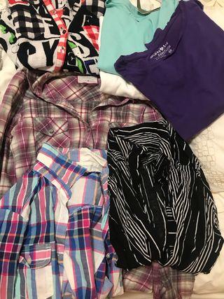 Camisas Niña talla 12-14