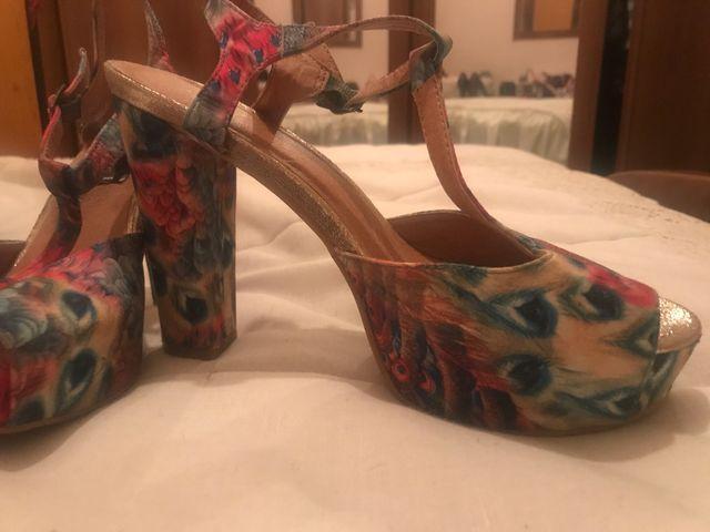 Sandalia colores