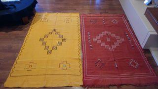 auténtica alfombra bereber a estrenar