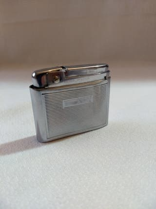 Vintage Mechero Silver Match