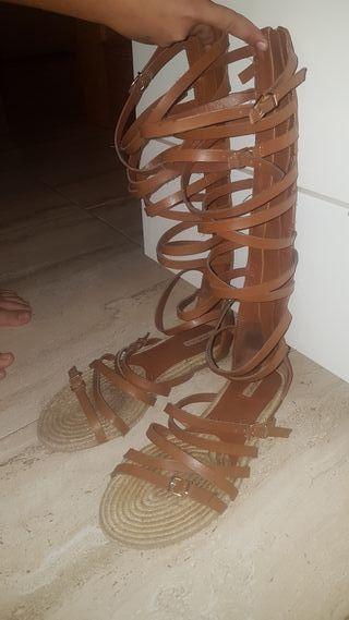 Sandalias romanas poco uso 38
