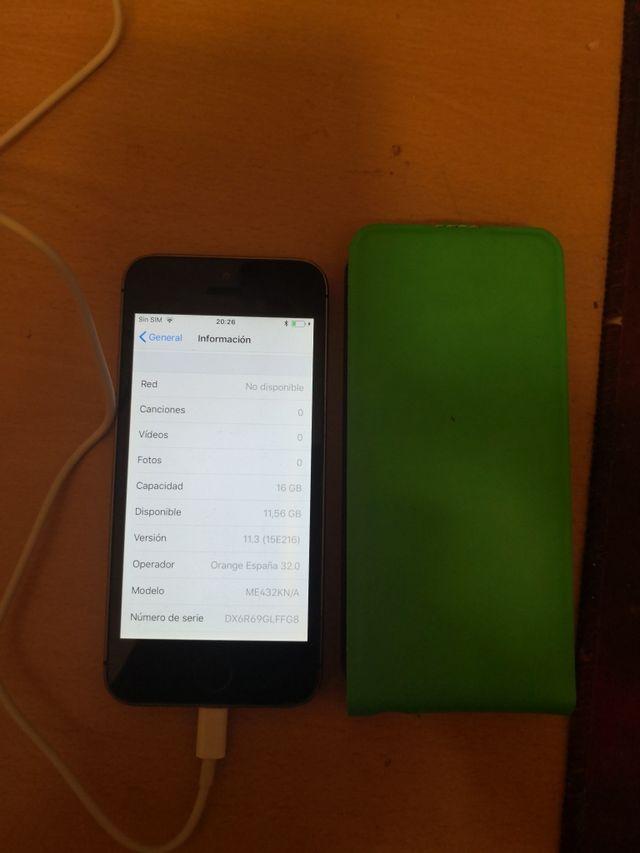 iphone 5s libre de 16 gigas