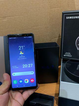 Samsung note 8 y Gear Frontier