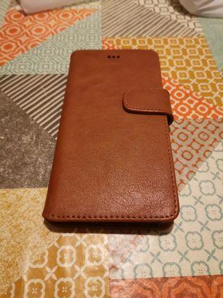 Funda IPhone 7 plus marrón