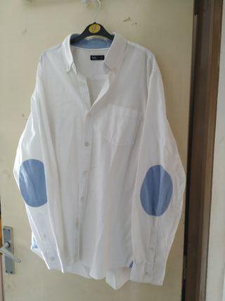 camisa hombre coderas