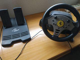volante y pedales PC
