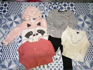 Lote de ropa bebé 9-12 meses