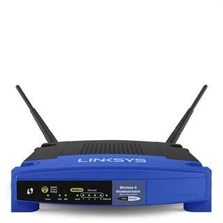 Router inalámbrico Linksys WRT54GL Neutro y dd-wrt