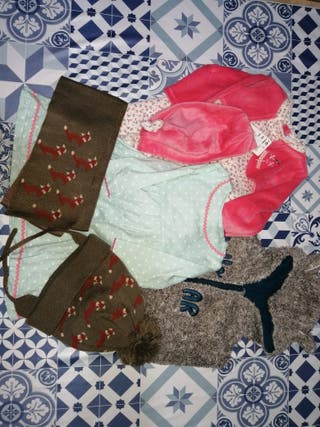Lote de ropa de bebé talla 6-9 meses