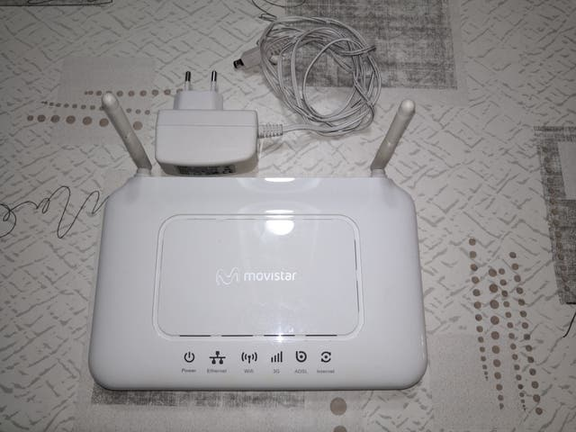 Router ADB inalambrico ADSL Home Station movistar