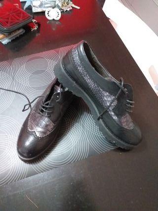 zapatos mustang mujer