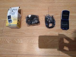Power Safer Sc-10 Cargador Solar Portatil 750ma