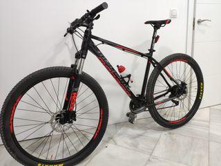 bicicleta MTB montaña