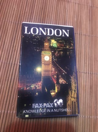 Baraja de 36 cartas lugares de interés de Londres