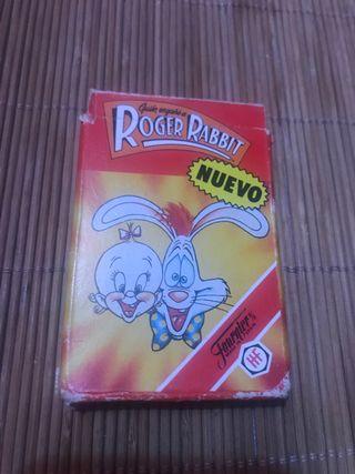 Juego de 33 cartas de la película de Roger Rabbit