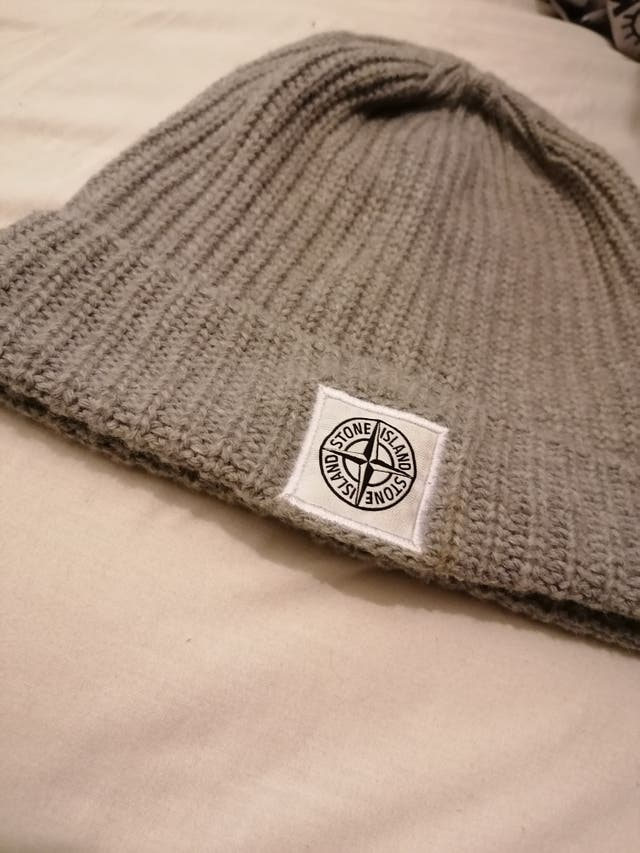 Authentic Stone island badge logo hat