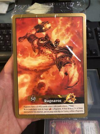 Juego de cartas World of Warcraft (sin usar)