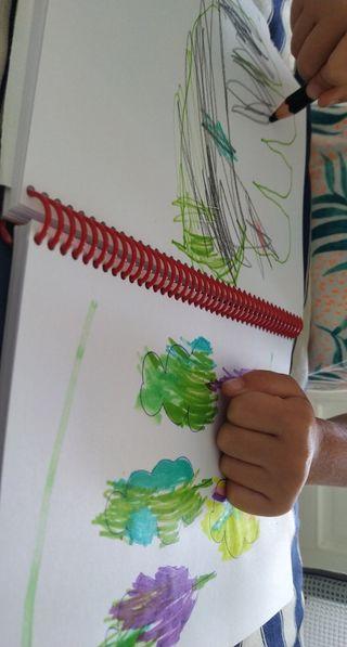 Clases de dibujo y pintura para niños