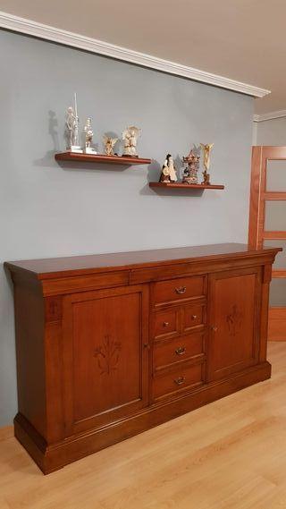Salón completo madera