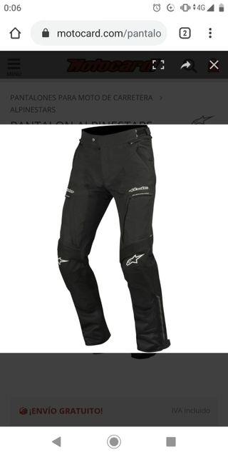 Pantalon moto alpinestars
