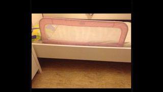 Baranda seguridad cama