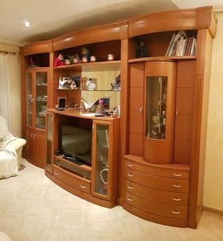 mueble de salón macizo. con montaje y transporte
