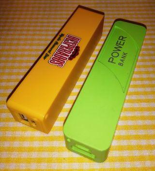Baterías externas de teléfono móvil.