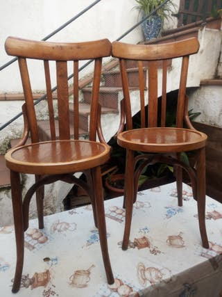 sillas estilo thonet. 15 la unidad