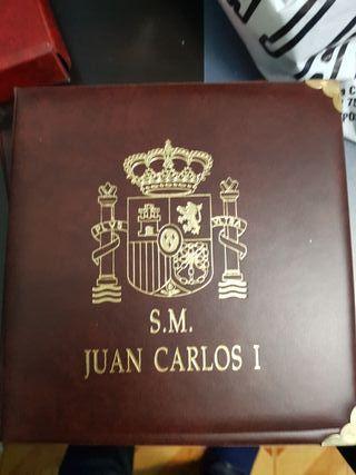 album monedas Juan Carlos