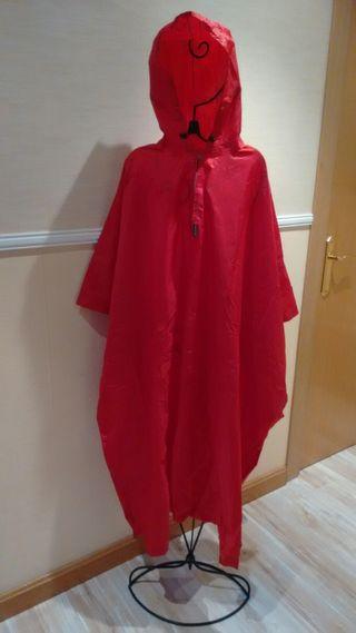 Poncho rojo Arpenaz Quechua