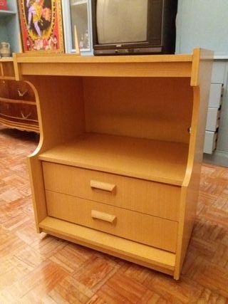 Mueble mesa auxiliar televisión