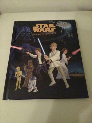 """Libro infantil """"Star Wars"""" . Nuevo."""