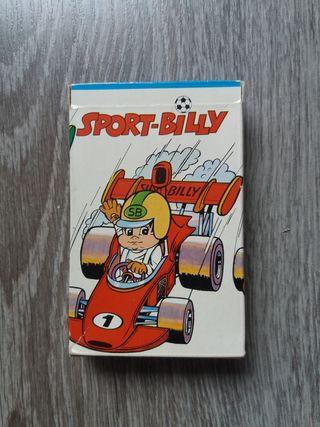 Cartas Sport-Billy. Baraja cartas infantil